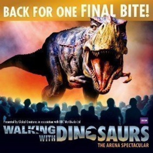 Walking with Dinosaurs - The O2 Arena