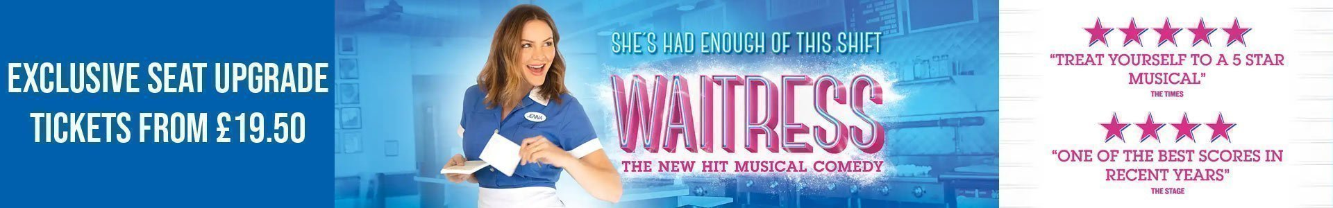 Waitress The Musical - Exclusive Offer